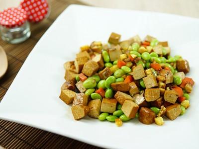 食譜-毛豆炒豆干