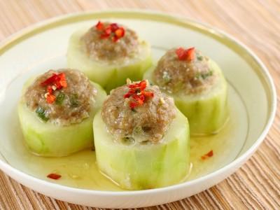 食譜-大黃瓜釀肉