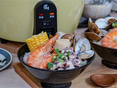 食譜-海鮮粥【電鍋料理】