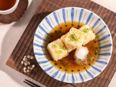 食譜-日式炸豆腐