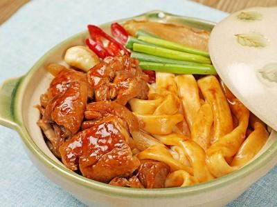 食譜-花雕雞炒粄條