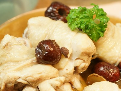 食譜-紅棗麻油雞