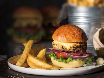 食譜-美式漢堡佐搖搖薯條