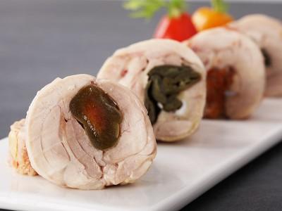 食譜-脆梅雞肉捲