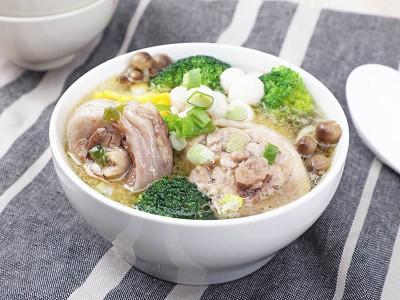 食譜-蔥雞湯鮮蔬鍋