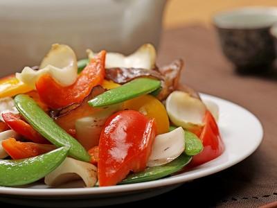 食譜-百合炒時蔬