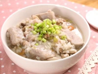 食譜-芋頭鹹粥