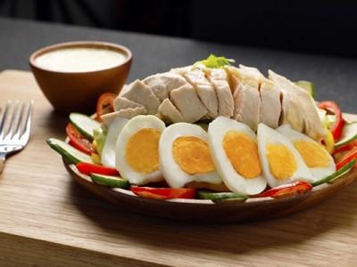 食譜-鮮蔬雞絲優格沙拉