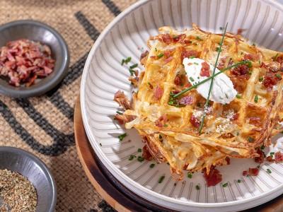 食譜-馬鈴薯絲鬆餅