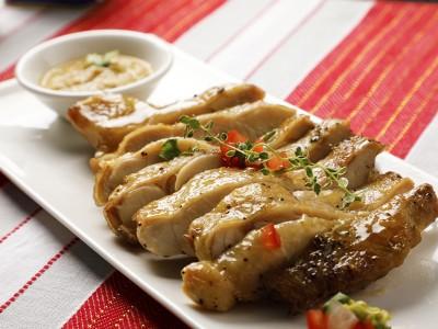 食譜-百里香腿排佐酪梨莎醬