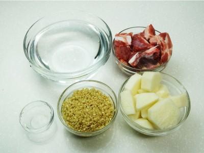 食譜-山藥排骨糙米粥