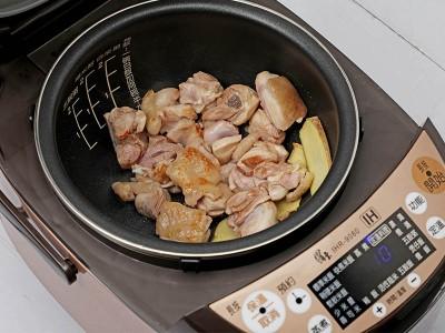食譜-蔥雞湯