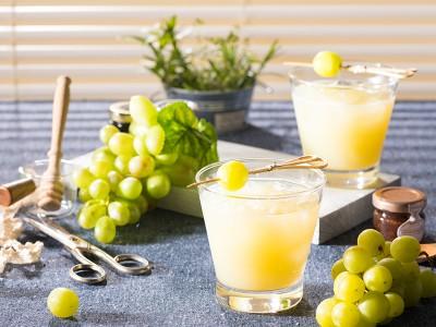食譜-豐收(葡萄蘋果氣泡飲)