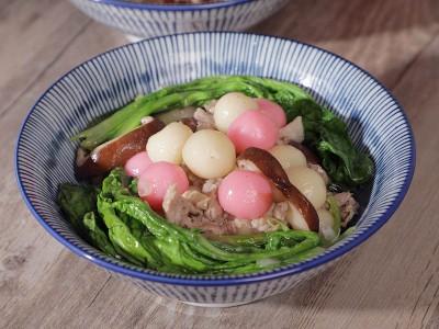 食譜-客家鹹湯圓(無蝦米版)
