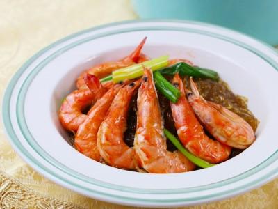 食譜-鮮蝦冬粉煲
