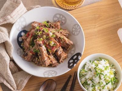 食譜-上海菜飯與豉汁排骨