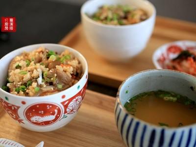 食譜-一鍋到底【五木雞肉炊飯】