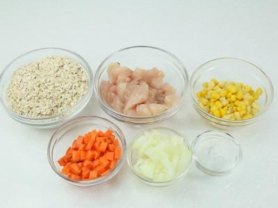 食譜-雞肉玉米燕麥粥