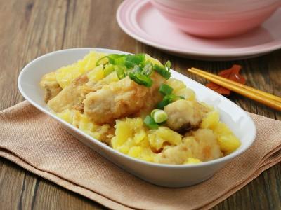 食譜-鮮橙佐魚片