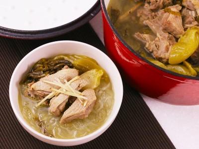 食譜-酸菜鴨肉湯