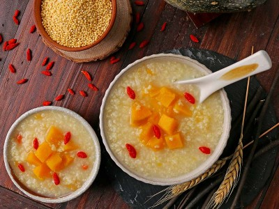 食譜-南瓜小米粥