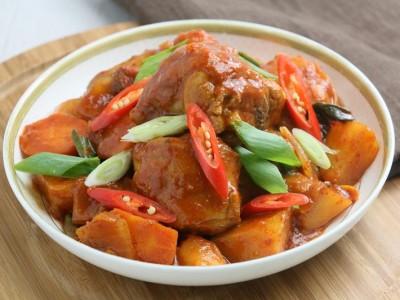 食譜-韓式辣燉雞