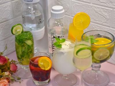 食譜-派對必備!五種簡單氣泡飲大公開,自已在家就能diy【氣泡水機料理】