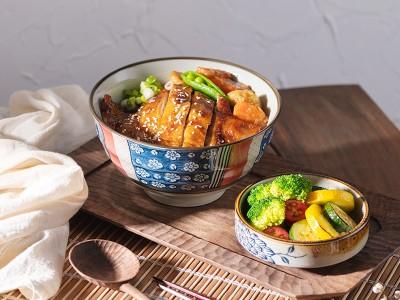 食譜-日式照燒雞腿飯+時蔬