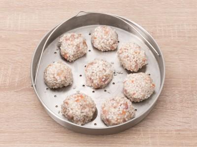 食譜-【一鍋兩菜】珍珠丸子&紅白蘿蔔牛腩湯