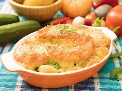 食譜-焗烤海鮮飯