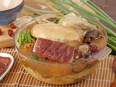 食譜-火腿雞湯