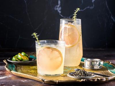 食譜-金桔葡萄柚綠茶