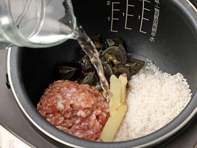 食譜-皮蛋瘦肉粥