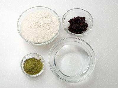 食譜-抹茶紅豆發糕