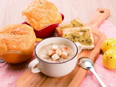 食譜-酥皮濃湯
