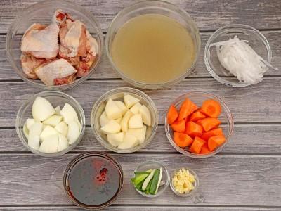 食譜-韓式燉雞