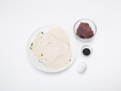 食譜-紅豆捲心酥