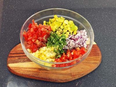 食譜-彩色莎莎醬