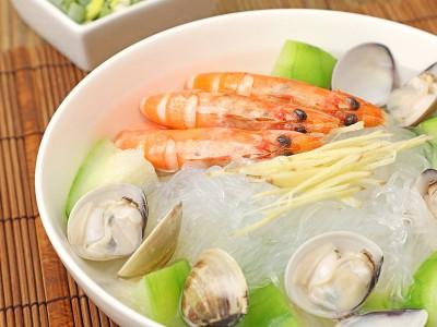 食譜-絲瓜海鮮冬粉