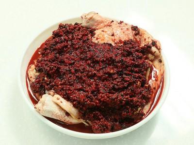食譜-紅麴蒸嫩雞