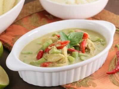 食譜-泰式綠咖哩雞
