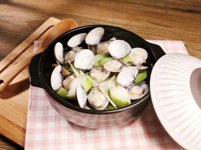 食譜-酒香蛤蜊絲瓜