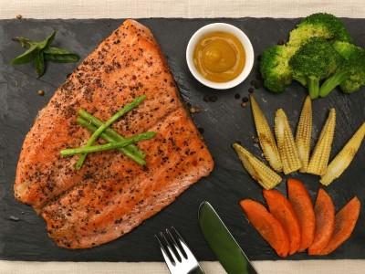 食譜-鮮蔬鮭魚