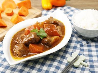 食譜-咖哩牛肉