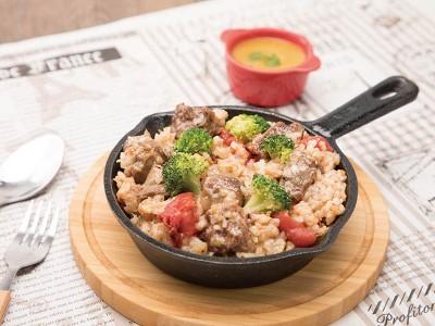 食譜-番茄牛肉燉飯