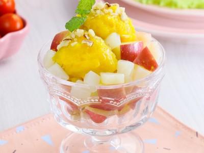 食譜-鮮果拌南瓜