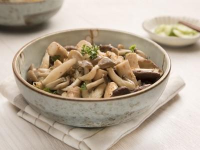 食譜-奶油鮮菇