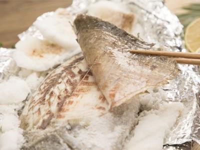 食譜-鹽烤鱸魚