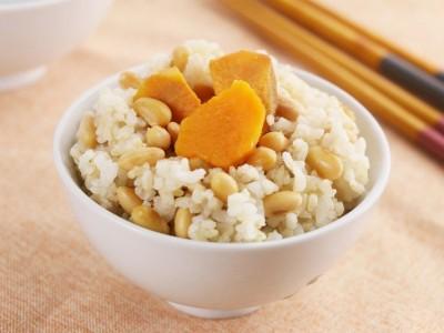 食譜-糙米黃豆地瓜飯