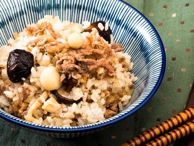 食譜-牛肉野菇炊飯